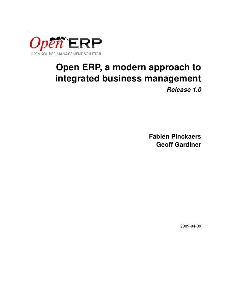 Open ERP Doc-04-openerp-book