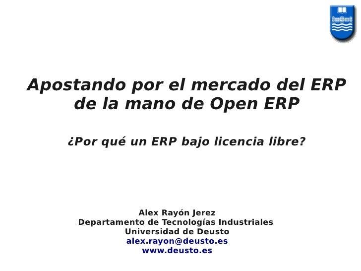 Open ERP e-Ghost-01-arj-jornadas estatales open erp