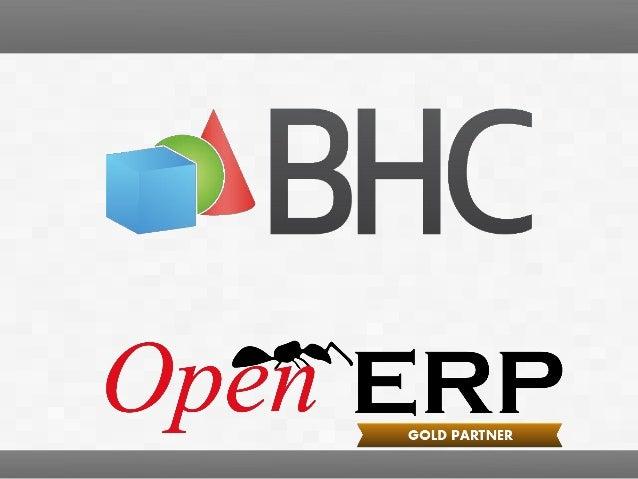 OpenERP mobile. Bertrand Hanot, BHC