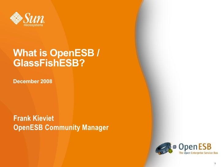 Open Esb 20081104 V2