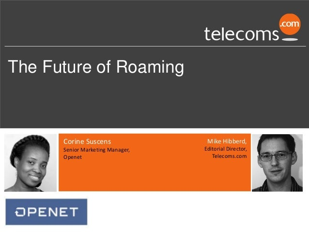 The Future of Roaming