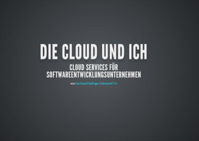 openExperts Talk: die Cloud und ich