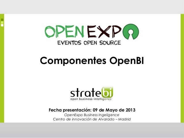 OpenExpo Business Intelligence Open Source