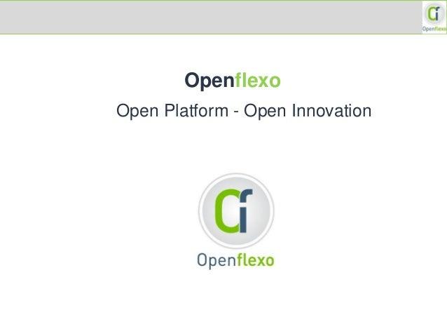 Openflexo Open Platform - Open Innovation