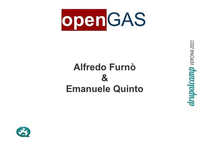 openGAS - 2011 09 22 - Verona