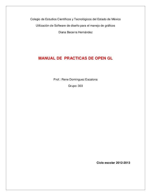 Colegio de Estudios Cientificos y Tecnológicos del Estado de México    Utilización de Software de diseño para el manejo de...