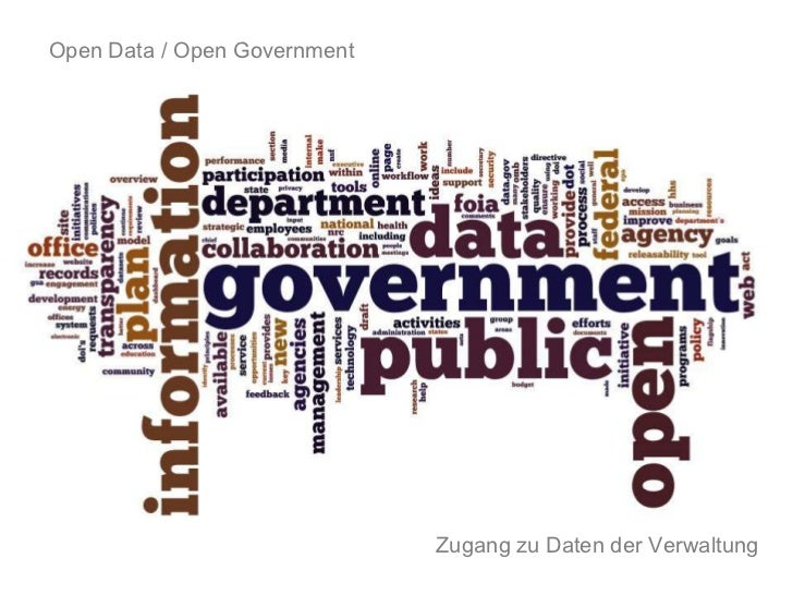 Open Data / Open Government