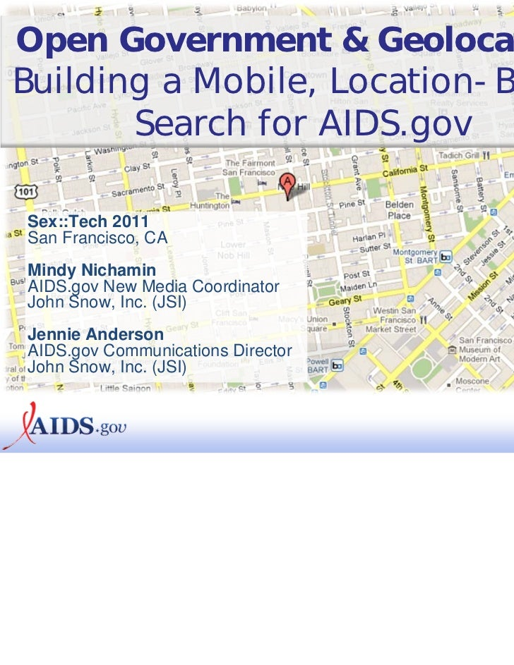 Open Government and Geolocation Mindy Nichamin