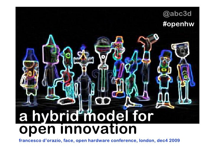 @abc3d                                                              #openhw     a hybrid model for open innovation frances...