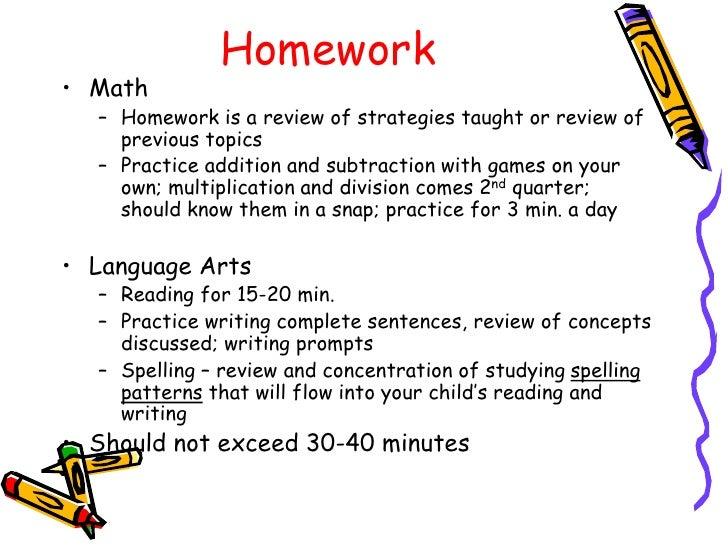 Language Arts Help Homework