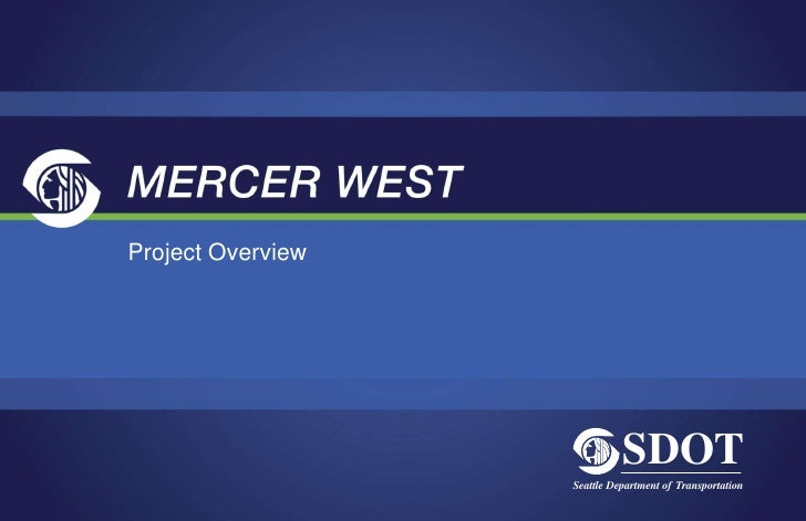 Mercer West: Open House (Sept. 21, 2010)