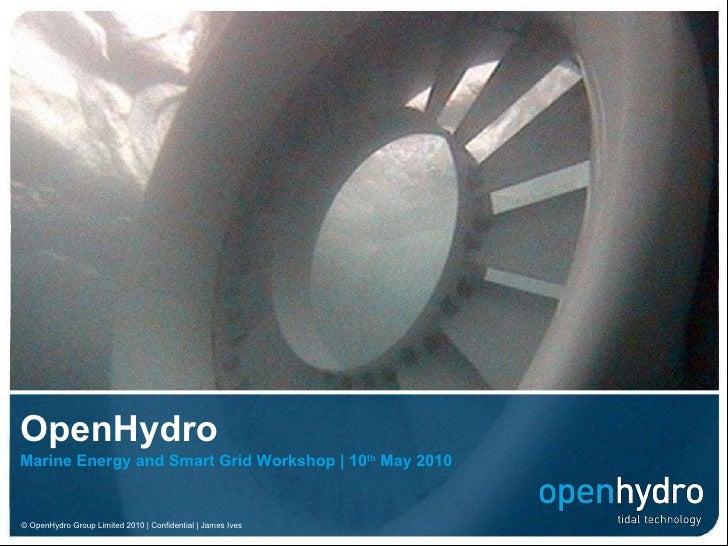 Open hydro presentation   workshop 20100507