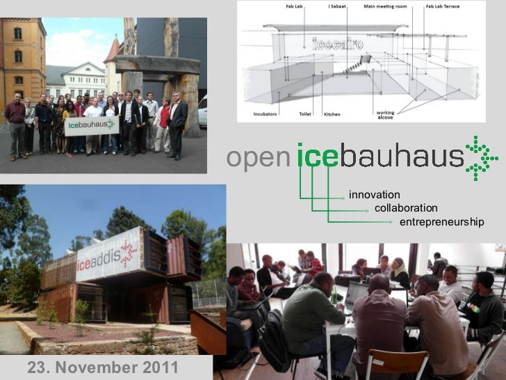 innovation collaboration entrepreneurship open 23. November 2011