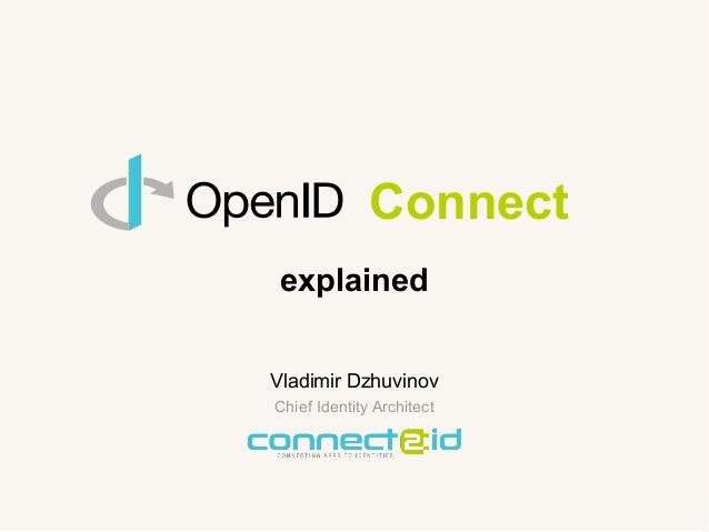 Connect explained >>> connect2id.com :: 03/02/14