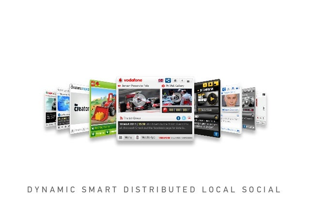 OPEN MEDIA UNIT™DYNAMIC SMART DISTRIBUTED LOCAL SOCIAL