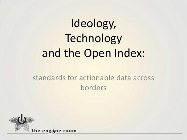 The Open Índex