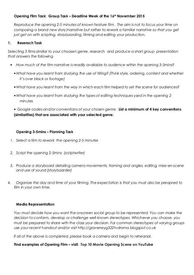 statistics coursework checklist