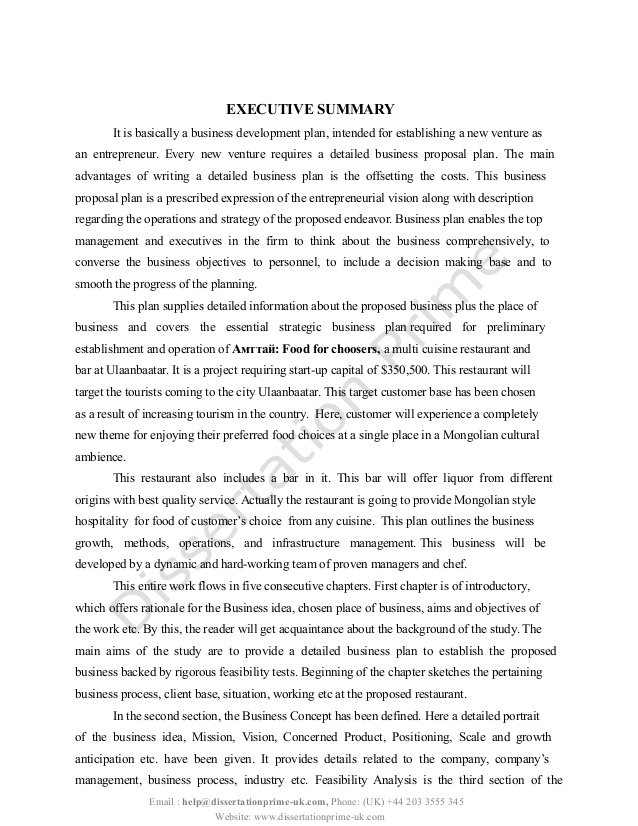psychology dissertation example