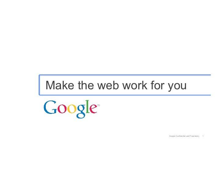 12.07.2012 Opening Keynote, Matt Brittin, Google