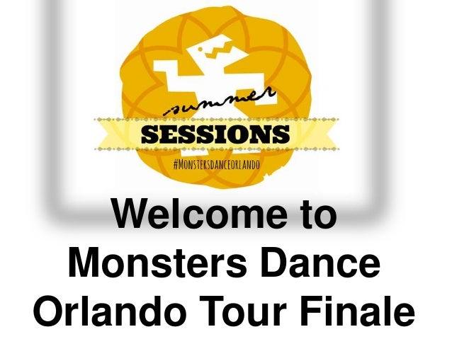 Monsters Dance Orlando Tour Summer Finale 2013
