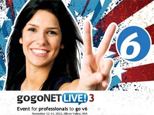 Welcome to gogoNET LIVE! 3 by Bruce Sinclair at gogoNET LIVE! 3 IPv6 Conference