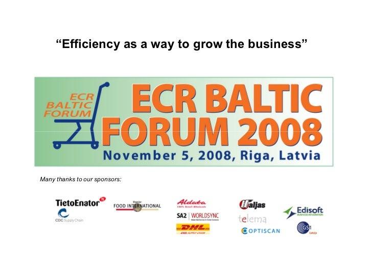 Opening presentation on_ecr_baltic
