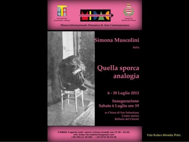 Quella sporca analogia by Simona Muscolini - MIDAC Museum 2013