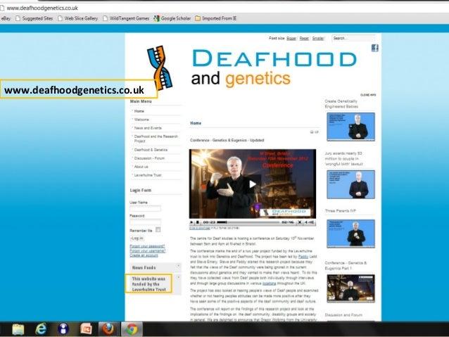 www.deafhoodgenetics.co.uk
