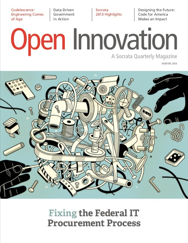 Open Innovation - Winter 2014 - Socrata, Inc.