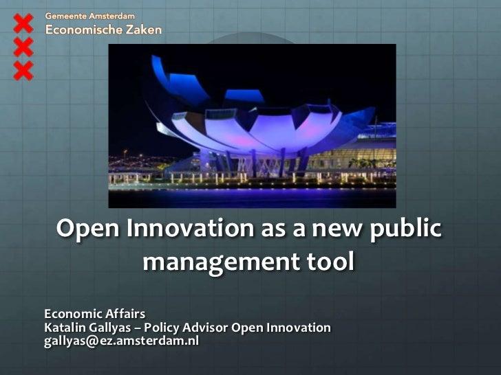 Open innovation amsterdam
