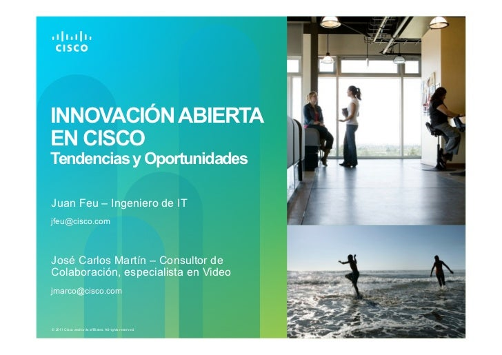 Innovacion Abierta en Cisco