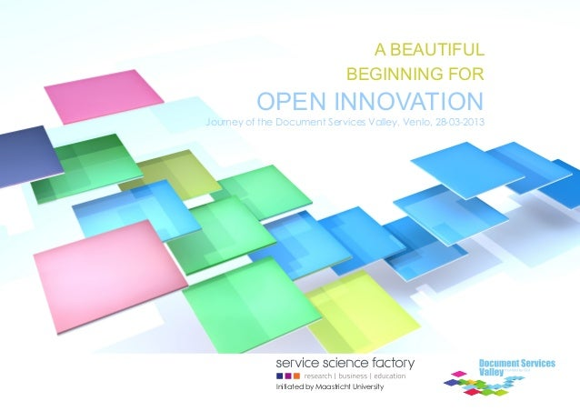 Beautiful beginning for open innovation