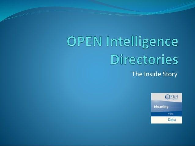 Open Intelligence Directories