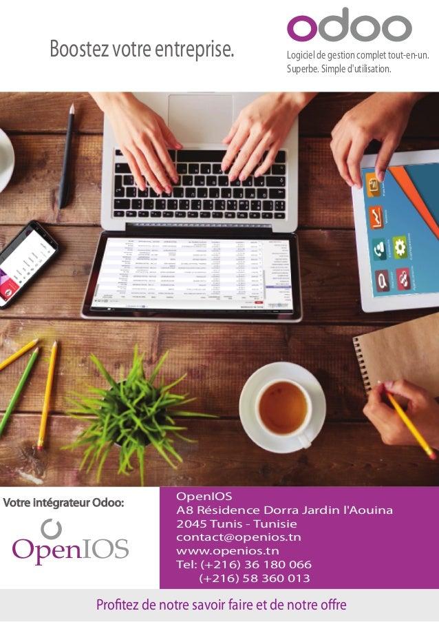 Logiciel de gestion complet tout-en-un. Superbe. Simple d'utilisation. Boostez votre entreprise. OpenIOS A8 Résidence Dorr...