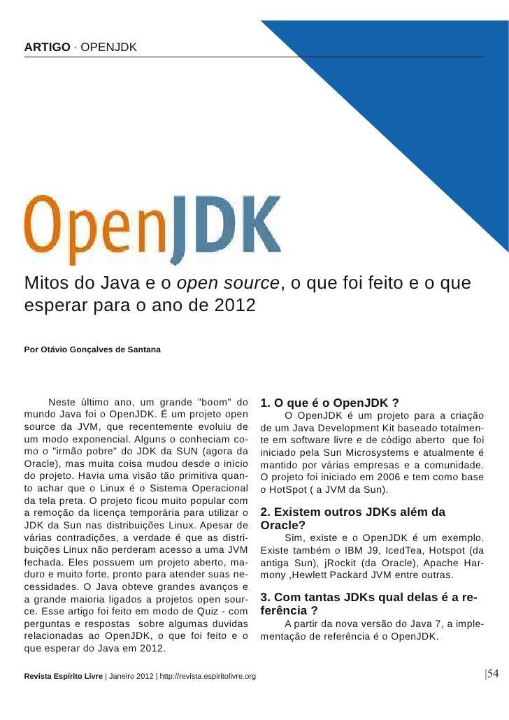 Projeto openjdk