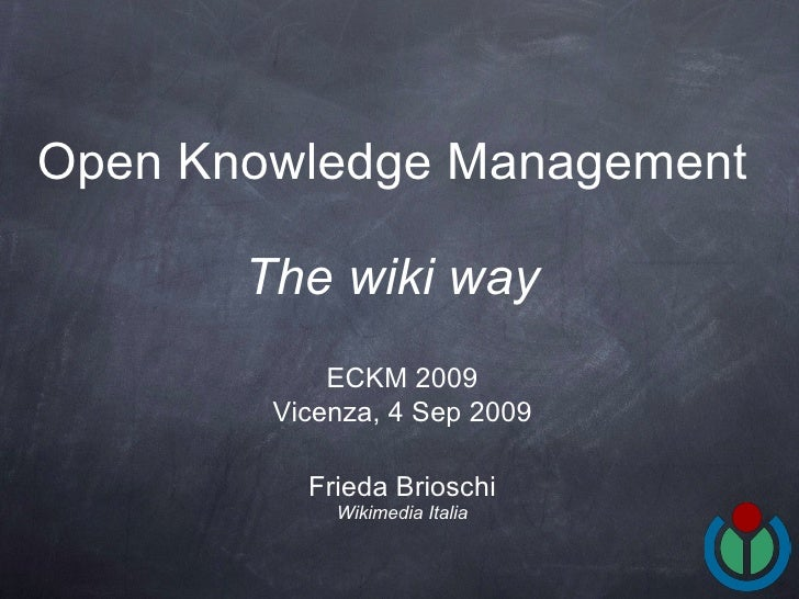 Open Knowledge Management