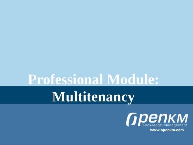 OpenKM multitenancy