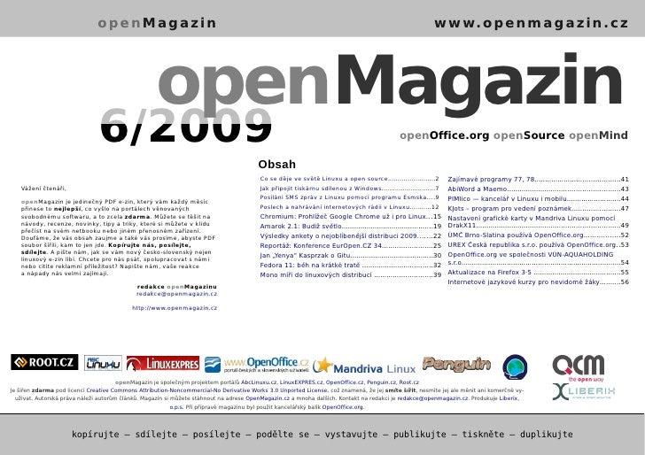 openMagazin 6/2009