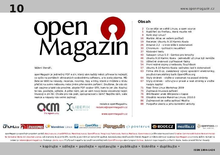 openMagazin 10/2009