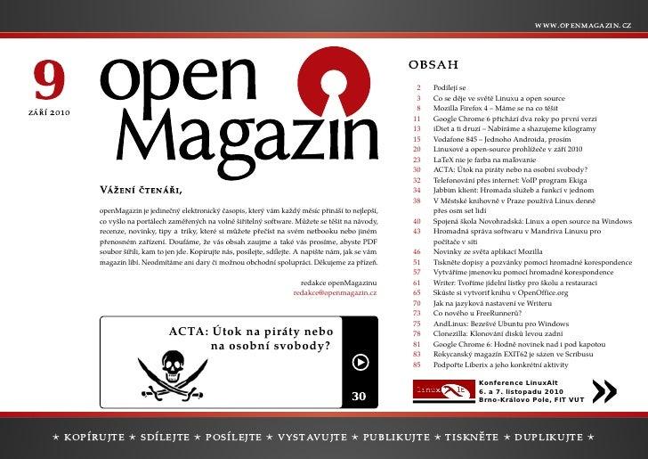openMagazin 9/2010