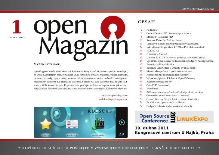 openMagazin 1/2011
