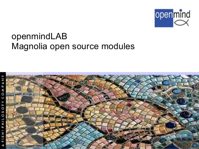 openmindLAB Magnolia open source modules