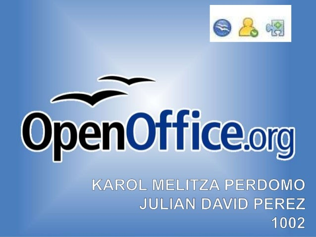  Formatos soportados OpenOffice.org permite importar y exportar documentos a otros formatos de archivo como Microsoft Off...