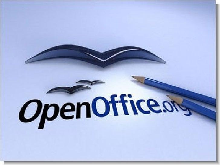 OpenOffice.org es una suite ofimática libre que incluye     herramientas como processador de textos, hoja de cálculo,  pre...