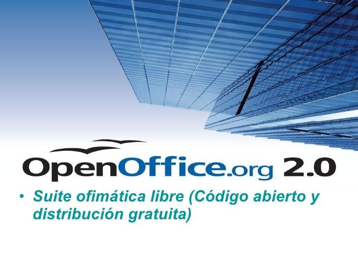 Openofficee