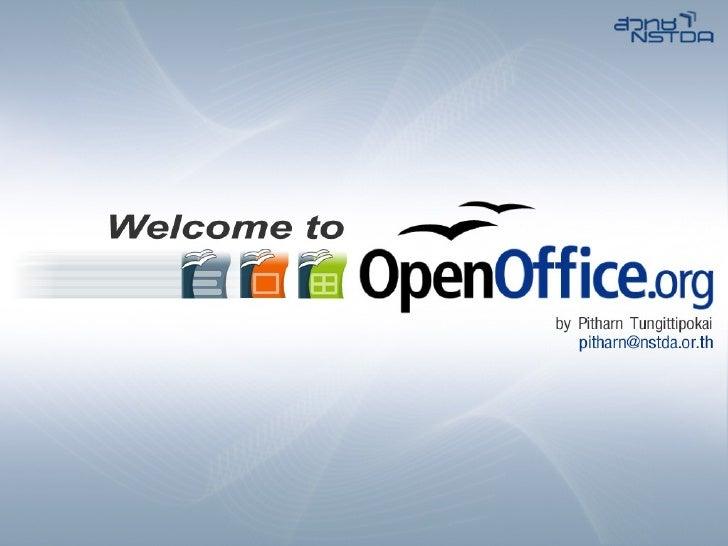 Open Office Guide