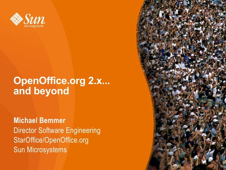 OpenOffice.org 2.x and Beyond