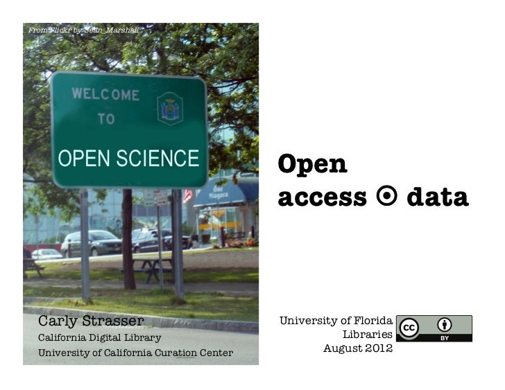 From Flickr by Sean_Marshall       OPEN SCIENCE                           Open                                            ...