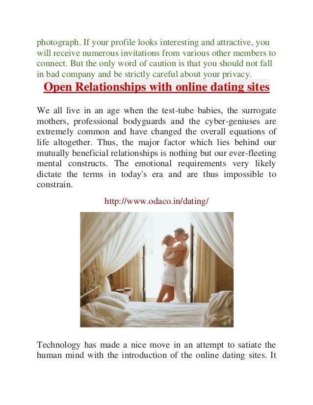 Open dating website