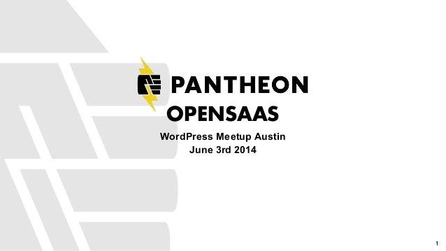 OpenSaaS with WordPress